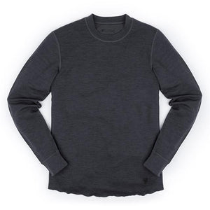 WOOL CREWNECK LS SHIRT(SALE)