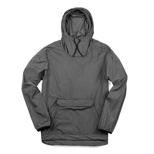 BUCKMAN PACKABLE ANORAK(SALE) CLOTHING chromeindustries GARGOYLE GREY XS