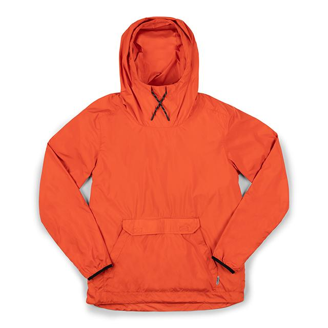 BUCKMAN PACKABLE ANORAK(SALE) CLOTHING chromeindustries MECCA ORANGE XS