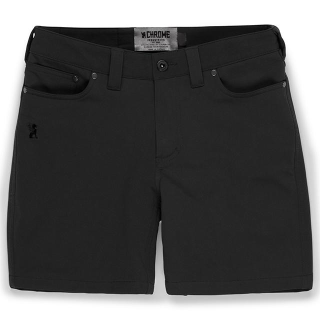 ANZA SHORT - WS(SALE) CLOTHING chromeindustries BLACK 0