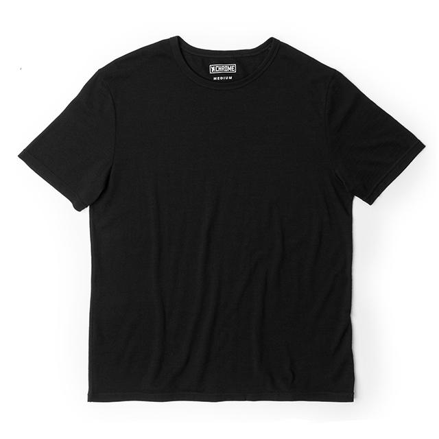 MERINO SS TEE CLOTHING chromeindustries BLACK S