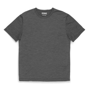 MERINO SS TEE CLOTHING chromeindustries CHARCOAL S