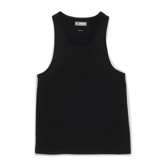 MERINO TANKTOP - W S(SALE) CLOTHING chromeindustries BLACK XS