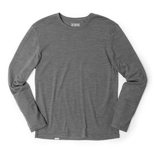MERINO LS TEE(SALE) CLOTHING chromeindustries CHARCOAL XS