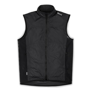 D.KLEIN ZIP WIND VEST(SALE) CLOTHING chromeindustries BLACK S