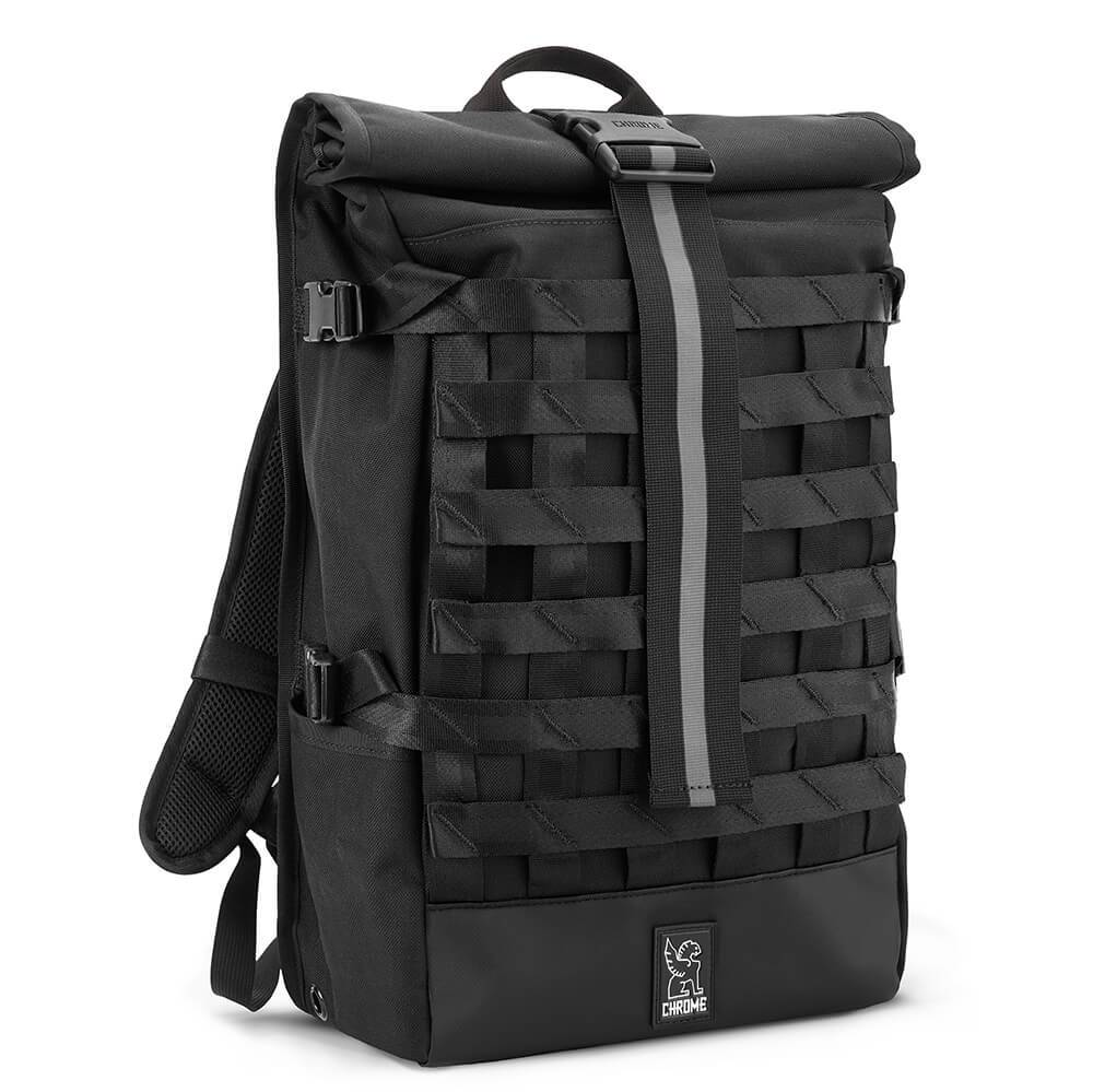 BARRAGE CARGO BACKPACK BAGS chromeindustries ALL BLACK
