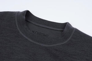 WOOL CREWNECK LS SHIRT(SALE) CLOTHING chromeindustries