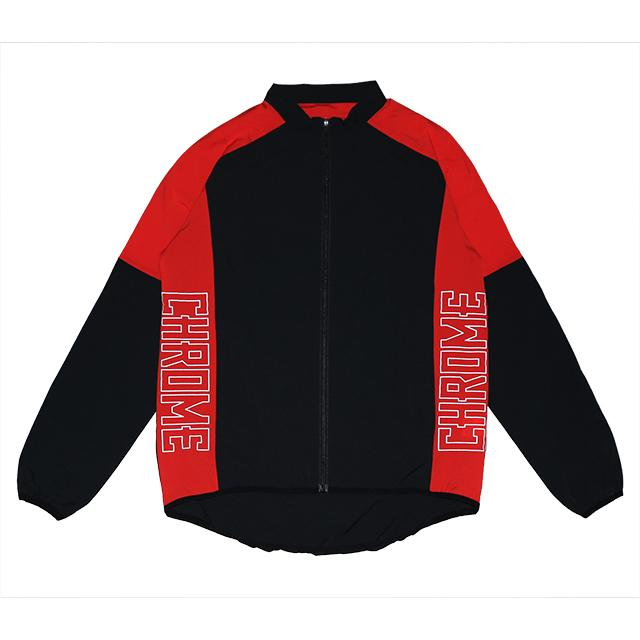 TECH JACKET CLOTHING chromeindustries RED/BLACK S
