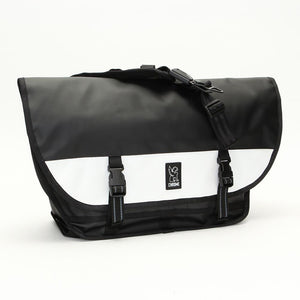 CITIZEN TARP MESSENGER BAG BAGS chromeindustries BLACK/WHITE
