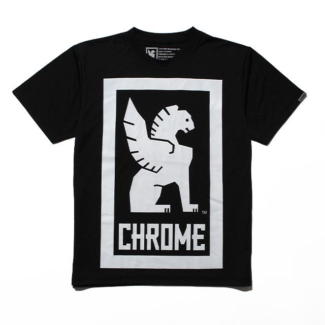 TEC BIG LOCKUP TEE CLOTHING chromeindustries BLACK S