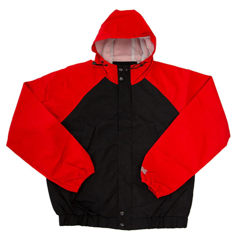 TECH JK WITH HOODIE CLOTHING chromeindustries RED/BLACK S