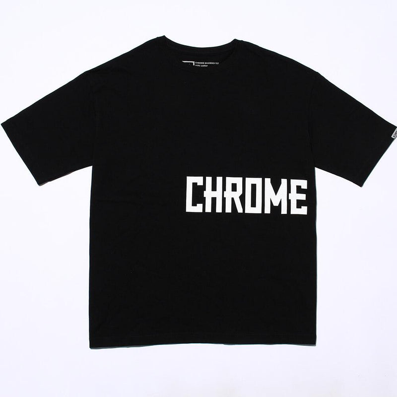 BIG SILHOUET TEE CLOTHING chromeindustries BLACK S
