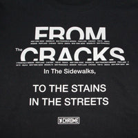 CRACKS BOX BACK PRINT L/S TEE CLOTHING chromeindustries