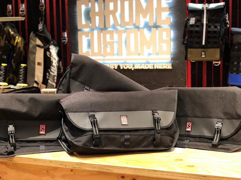 【予約販売】PRE MADE METROPOLIS BAGS chromeindustries