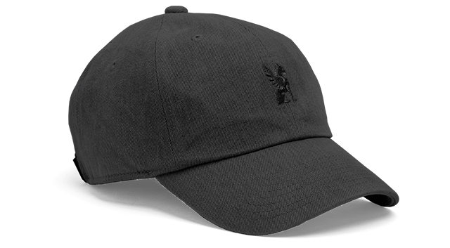 SIX PANEL CAP ACCESSORIES chromeindustries BLACK