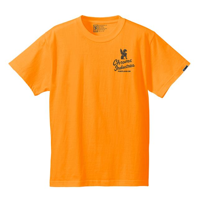 ★★★★★★★QUALITY PDX NEON ED.TEE(SALE) CLOTHING chromeindustries ORANGE S