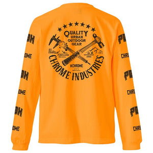 7★QUALITY PDX NEON ED L/S TEE(SALE) CLOTHING chromeindustries