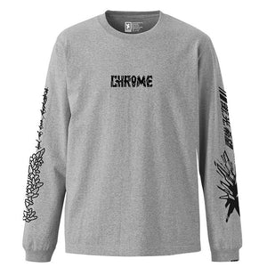 RAYS OF HOPE FOR THE CITY L/S TEE CLOTHING chromeindustries MIX GREY S
