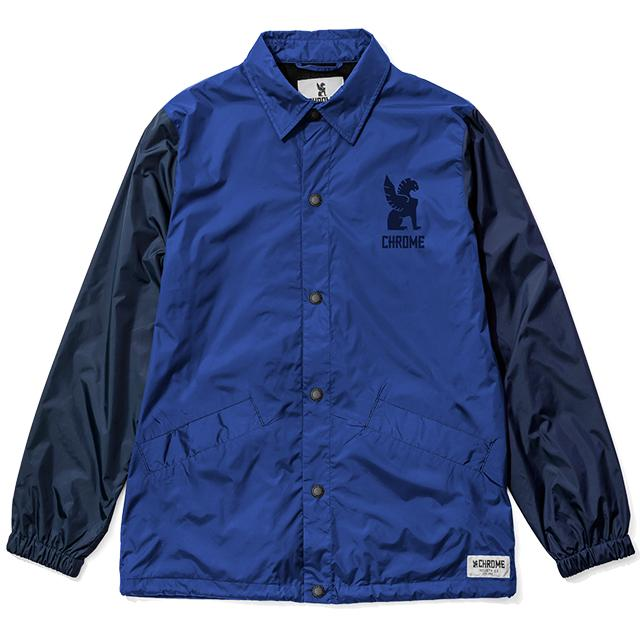 SYMBOL COACH JACKET(SALE) CLOTHING chromeindustries NAVY/NAVY S