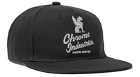 5 PANEL CAP ACCESSORIES chromeindustries BLACK/WHITE