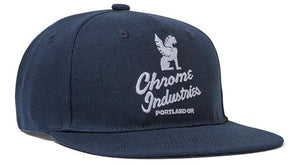 5 PANEL CAP ACCESSORIES chromeindustries NAVY/WHITE
