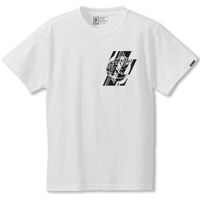 WHOLE 9 TEE CLOTHING chromeindustries WHITE S
