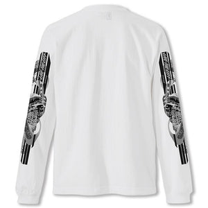 WHOLE 9 L/S TEE(SALE) CLOTHING chromeindustries