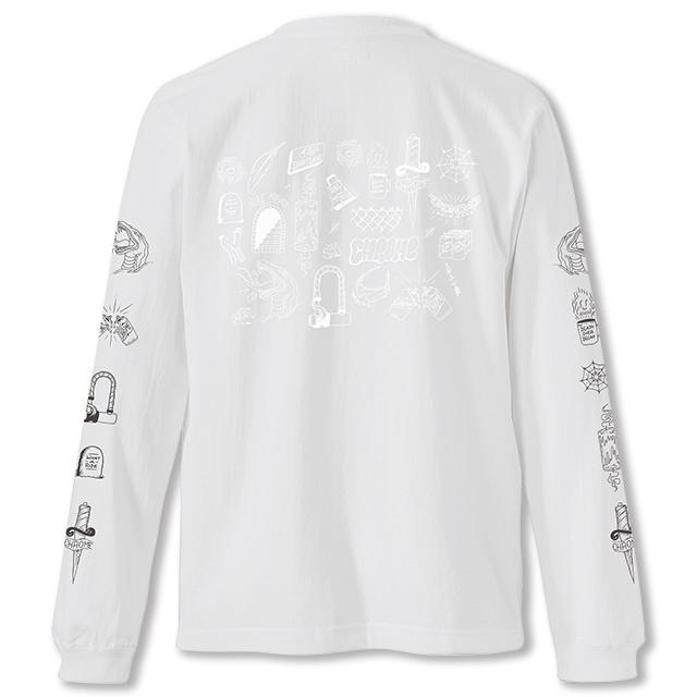 STREET SIGNS L/S TEE(SALE) CLOTHING chromeindustries