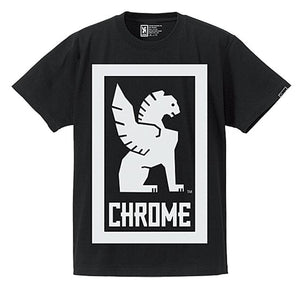 BIG LOCKUP TEE CLOTHING chromeindustries BLACK S