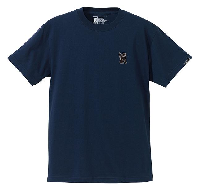 SYMBOL POINT TEE CLOTHING chromeindustries HEATHER NAVY S