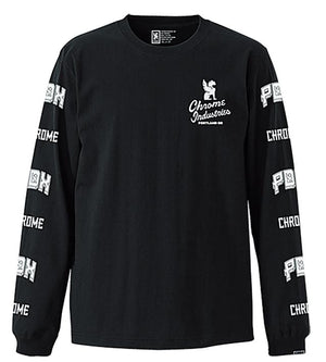 ★★★★★★★QUALITY PDX ED. L/S TEE(SALE) CLOTHING chromeindustries BLACK M