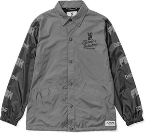 ★★★★★★★QUALITY PDX ED. COACH JACKET(SALE) CLOTHING chromeindustries GREY/BLACK S