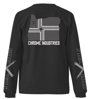 PDX HUB L/S TEE(SALE) CLOTHING chromeindustries