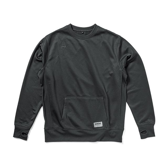 TECH SWEAT CREW(SALE) CLOTHING chromeindustries BLACK M