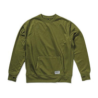 TECH SWEAT CREW(SALE) CLOTHING chromeindustries OLIVE M