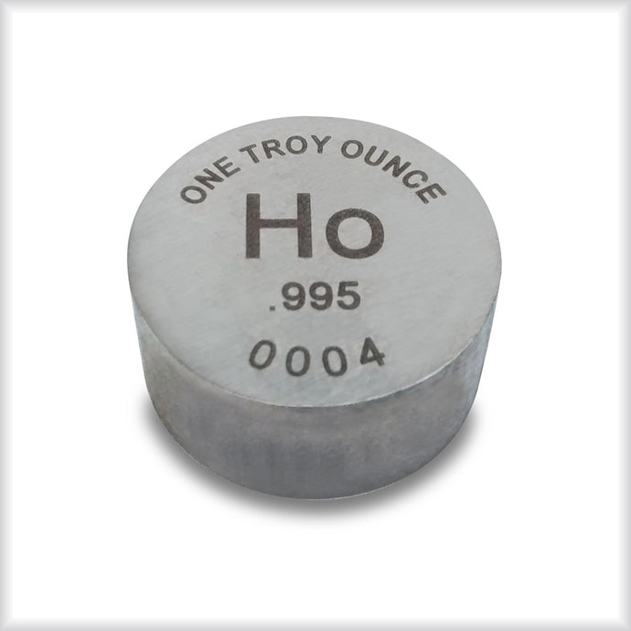 Holmium and Lutetium are back in stock