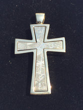 RWMM meteorite cross 18 karat gold