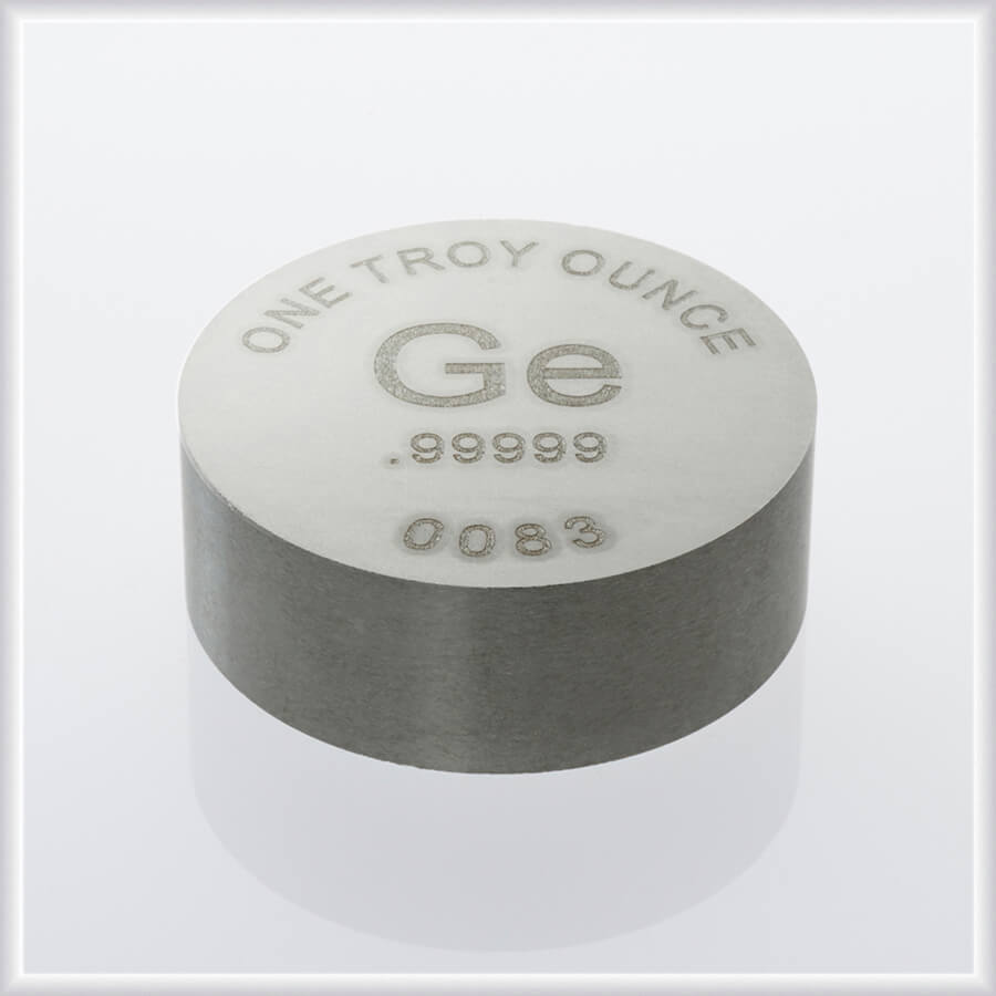 RWMM germanium ingot