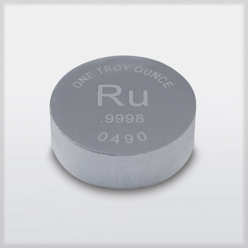 RWMM ruthenium ingot new