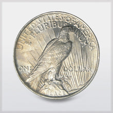 Peace Silver Dollar AU - reverse - offered by RWMM