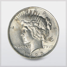 Peace Silver Dollar AU offered by RWMM