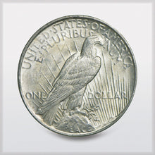 Peace Silver Dollar VG-XF - reverse - offered by RWMM