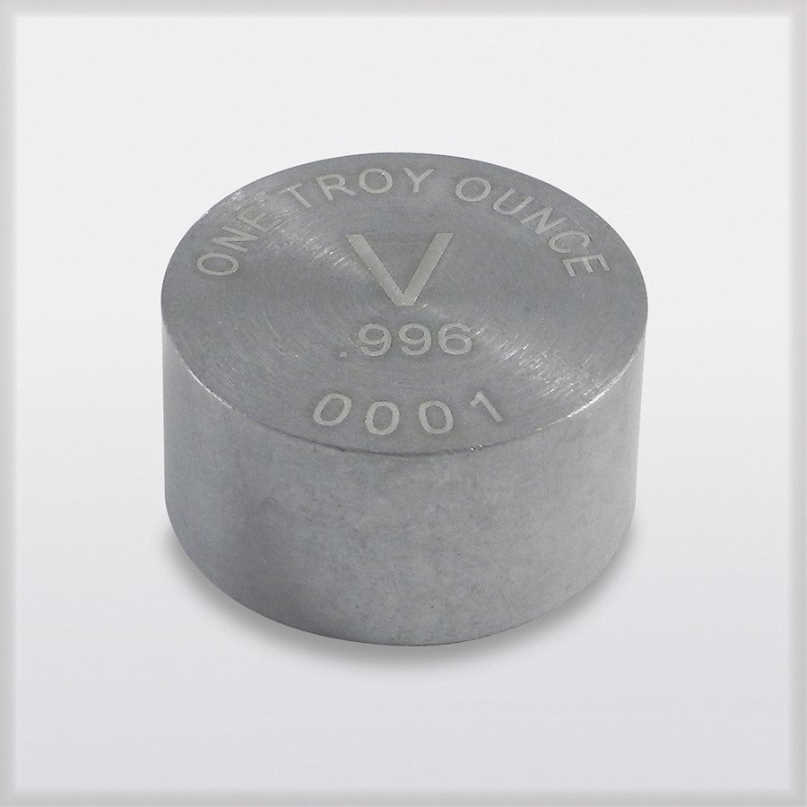 RWMM vanadium ingot
