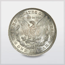 Morgan Silver Dollar - reverse - offered by RWMM