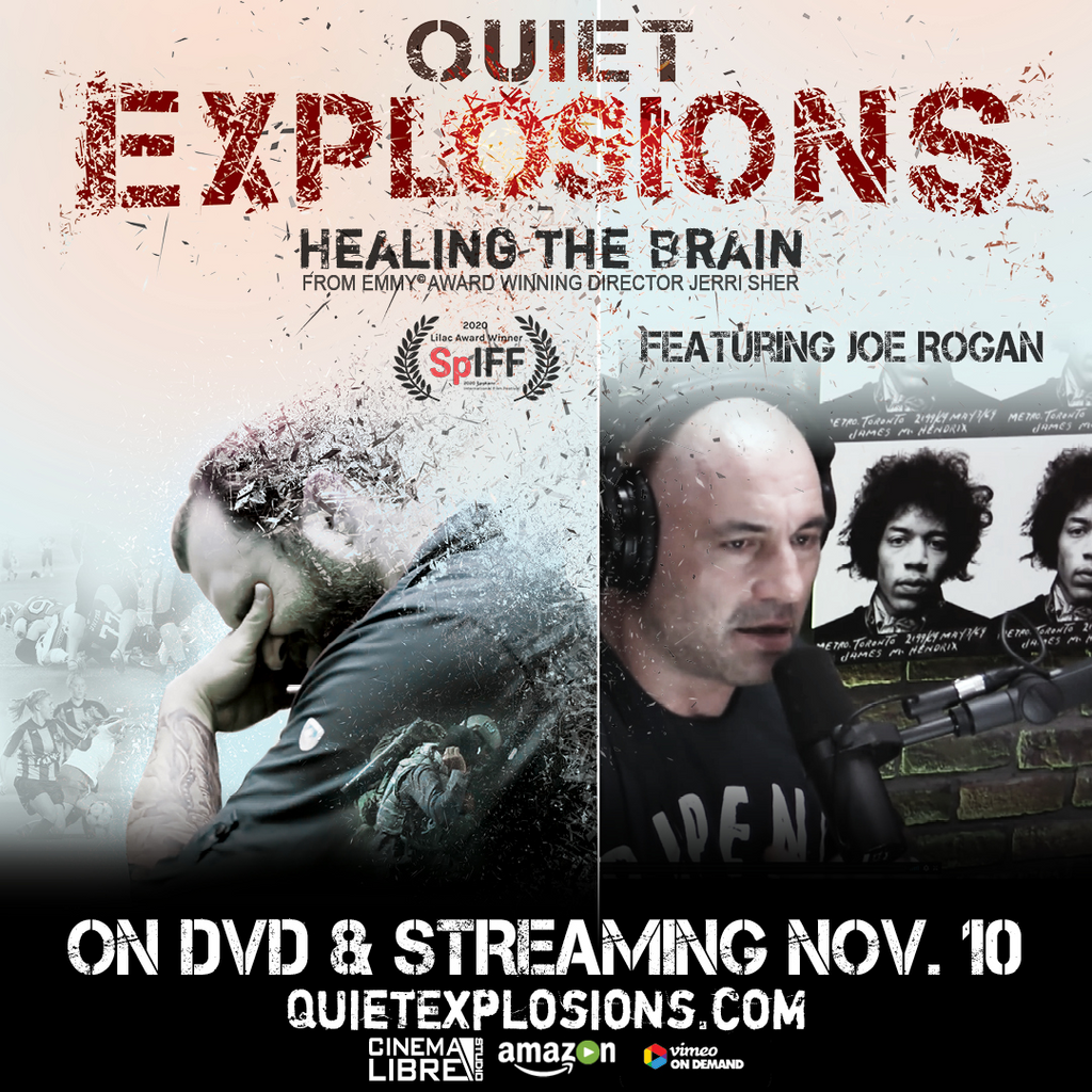Quiet Explosions (DVD) Healing the Brain