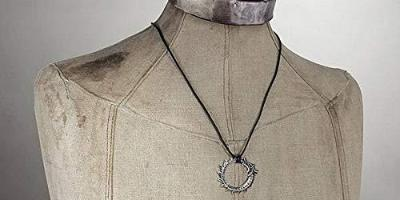 Nordic World Serpent Pendant Necklace