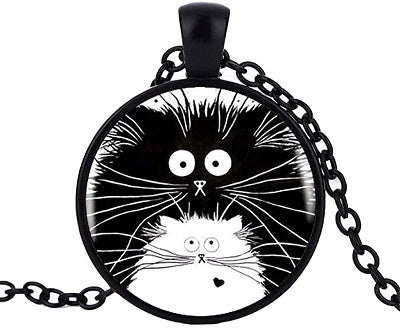 Big Cat Little Cat Necklace