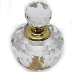 Crystal & Gold Bottle filled with Pheromone 4X Oil
