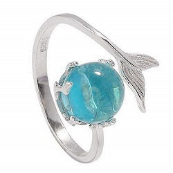 Adjustable Mermaid Tail Ring