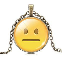 Emoji Pendant Necklace Jewelry - AttractionOil.com